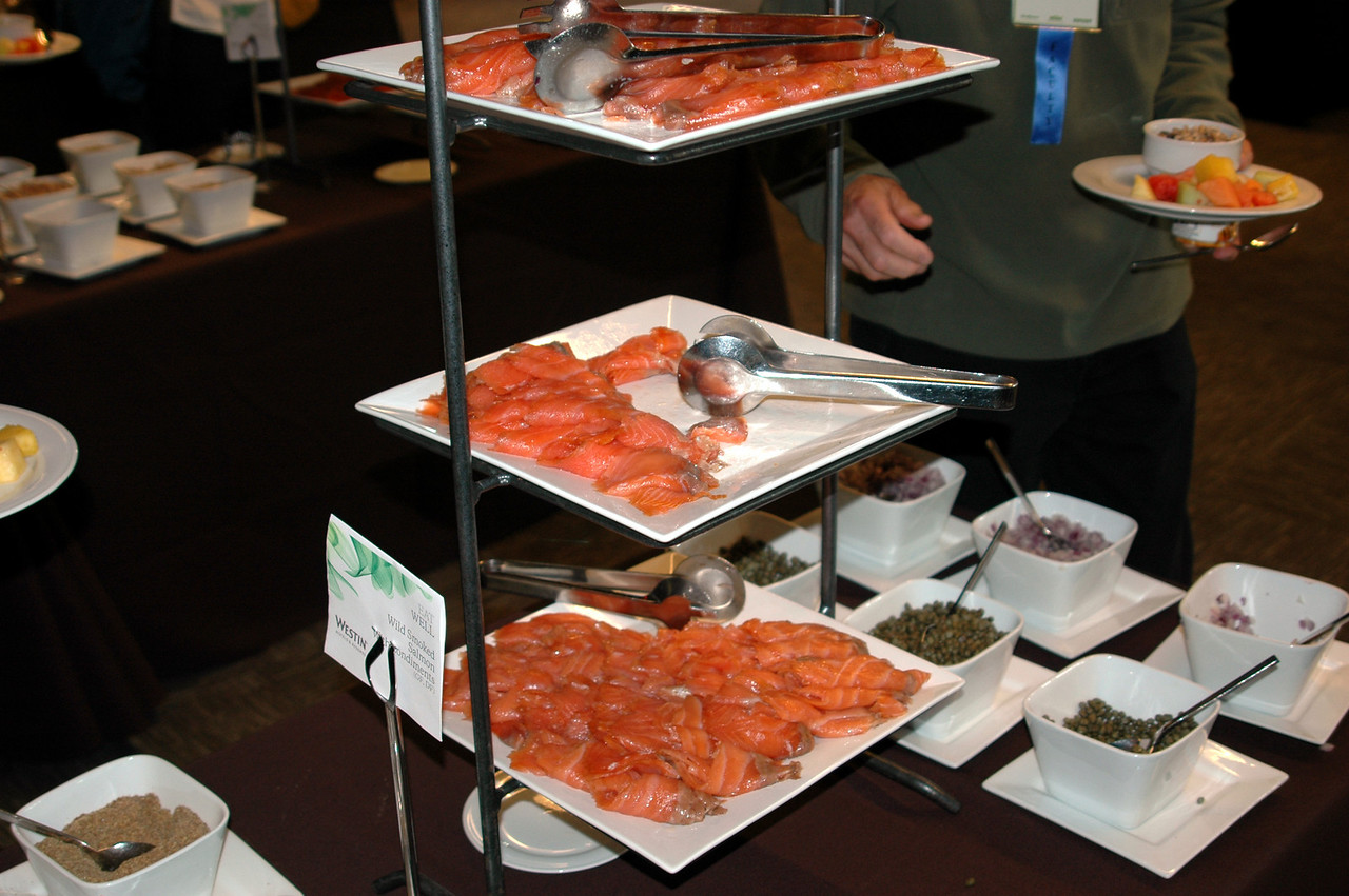 This wild-caught smoked salmon was a hit at breakfast, plus it is full of healthy omega-3 fatty acids for a healthy brain!