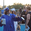 Students receive diplomas at Dracut High School's graduation Friday. Lowell Sun/Chris Lisinski