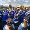 Scenes from the Dracut High School graduation ceremony on Friday, June 2, 2017.