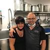 Georgiana and Christos Kotsironis from Primo Pizza of Dracut