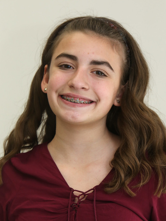 . Richardson Middle School\'s Knowledge Bowl team: Marissa Jones, 12, 7th grade. (SUN/Julia Malakie)