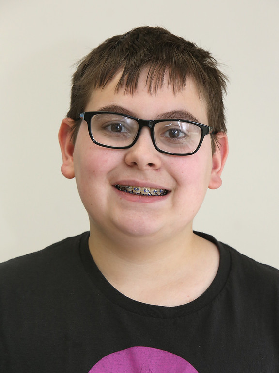 . Richardson Middle School\'s Knowledge Bowl team: Matthew Jarek, 14, 8th grade. (SUN/Julia Malakie)