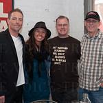 Brian Hardin, Ivy Salyer, Tim Brown and Bryan Foster.