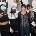 Novice Sister Salacia, Novice Sister Cordelia, Tina Groth and T.B. Sparrow.