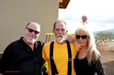 Darrell & Pam Conrad with Rick Lanham