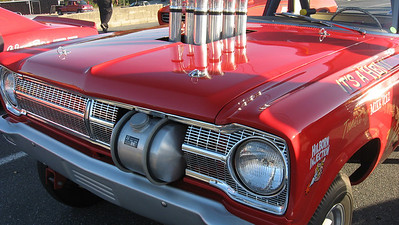 Detail shot of the immaculate Performance King Mopar.