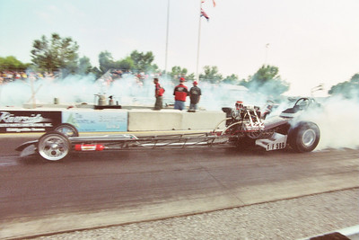 NITRO was the name of the game with the Russell and Jones team. Burnouts tickled the ears of all in attendance.