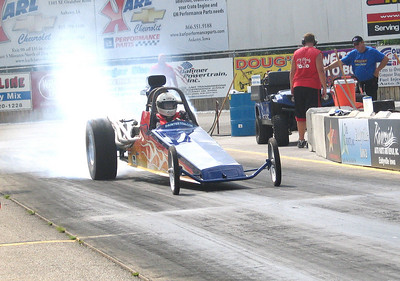 Tom Morris starts his burnout.