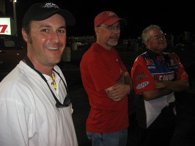 Nice to see former Inside Motorsports editor Jon Paulette and writer Jimmy Manuel. Race director Bubba Corzine kept everything running pretty much on schedule, despite having to compress qualifying and eliminations together on Saturday.