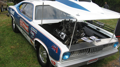 Bill Stiles had two of his tough Pro Stock Mopars on site.