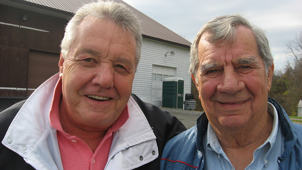 Drag racing veterans Wally Bell and Tom Sneden.