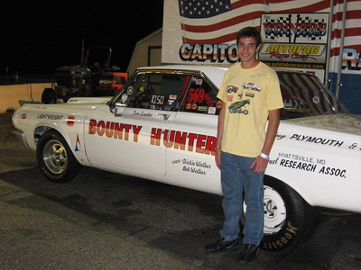 Young Kevin Gresson won the Nostalgia Super Stock title over a great field.