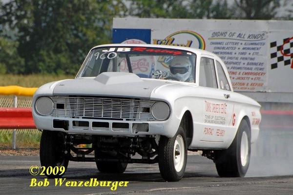 2009 Nostalgia Funny Car Nationals by Bob Wenzelburger