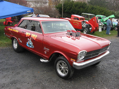 The Hayden Profitt Wild Child Chevy II looked clean and mean.