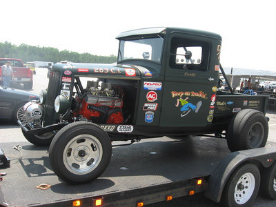 Great looking pickup exemplifies the great grass roots racers who attended the Best of Times Nostalgia Nationals.