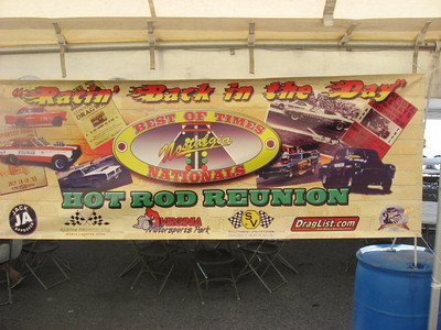 The Best of Times Hot Rod Reunion poster...