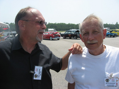 Ron Horton and ace photographer Bob Wenzelburger.