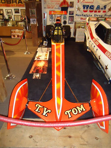 T.V. Tommy Ivo car was the first open cockpit car Bruce Larson ever drove!