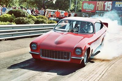 Vic Miller's Veney's Vega injected alcohol funny car.