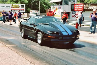 Jeff Spear's hot Camaro.