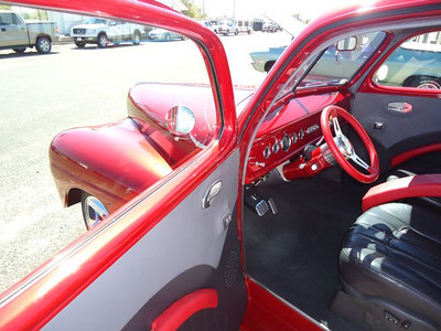 Great looking interior of Marvin Nelson's immaculate '42 Ford.