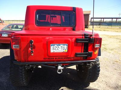 Jack Schuler's Jeep.