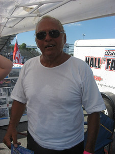Original MIR track manager and top fuel racer Ray Gramlich was on hand to share memories of MIR with his pals.