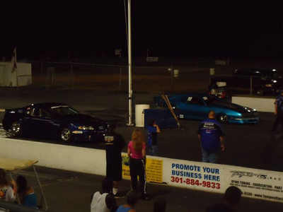 Frantic 8 final came down to a pair of turbo cars -- Andy Jensen's Camaro vs. Tim Essick's Mustang. Jensen grabbed the win as Essick unloaded the chassis after a mid track wheelstand.