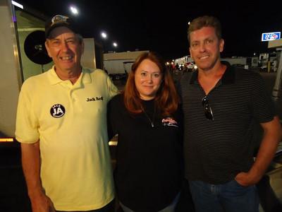 Jack Redd, Matt Stambaugh's cute girlfriend (oops--need her name again, sorry!), and Jack's son John.