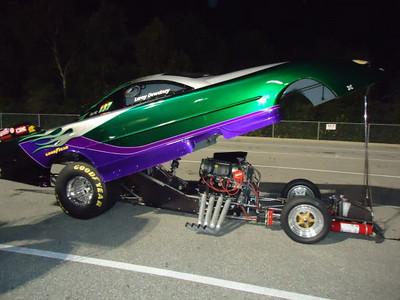Leroy Dewdney's funny car.