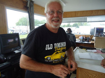 Nice to find good guy and former IHRA president Hayne Dominick keeping things running smoothly in the tower.