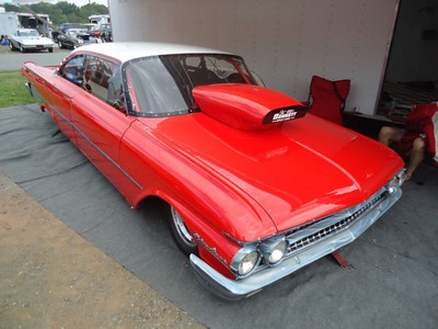 Great looking Ford Galaxie rode low, ran fast.