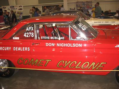 Steve McBlane's Don Nicholson Comet Cyclone.