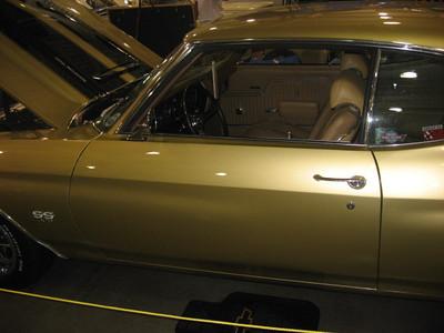 Clean Chevelle interior.