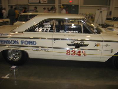 Leo Sekulski's Nostalgia Super Stock Ford.