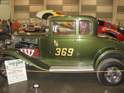 The Gang Greene B/Gas Ford Coupe.