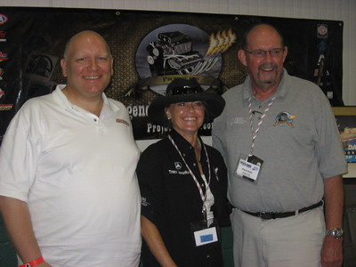 The Project 1320 team was in the house... Bill Pratt joins Traci Hrudka and Steve Cole.