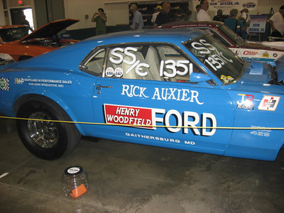 Super clean Rick Auxier Super Stock Ford Mustang.