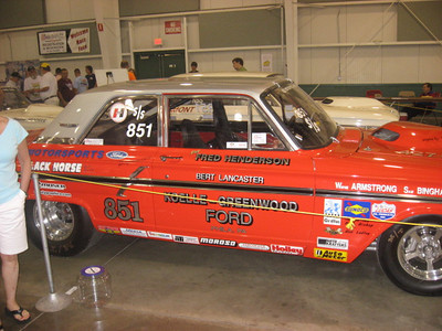 Fred Henderson's Super Stock Ford.