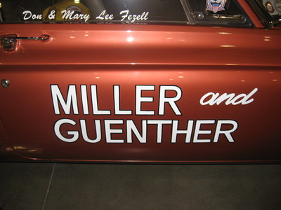 Don & Mary Fezell's Miller & Guenther Plymouth.
