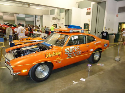 Arlen Fadely's famous Super Stock magazine project car Ford Maverick.