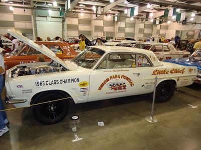 The Union Park Pontiac car.