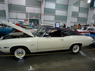 Stock appearing Chevy Chevelle.