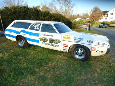 Dave Boertman Dodge Wagon Super Stock.