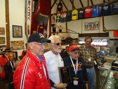 Bruce Larson, Fred Bear, Gene Altizer, and Dave Heisey.