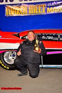 A/Gas winner, Rafael Quiroga