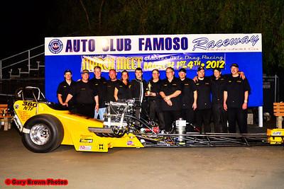 Top Fuel winner, Jim Young