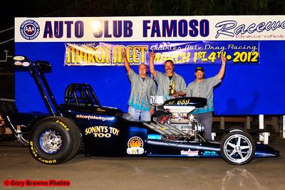 Nostalgia Eliminator I winner, Steve Schoenfeld