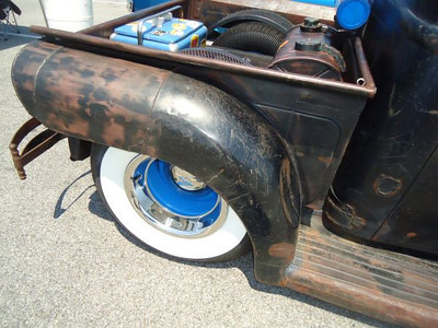 Cool rat rod at the 2012 Legends at Budds Creek event at MIR.