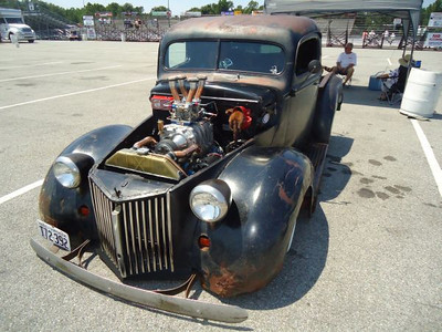 Awesome Rat Rod at the 2012 Legends at Budds Creek event at MIR.